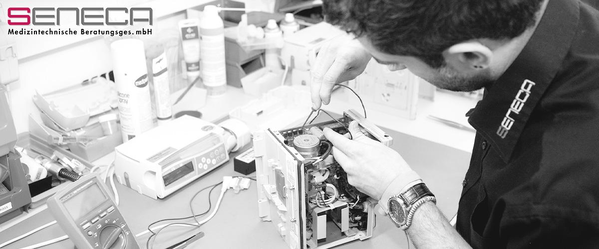 seneca Medizintechnik ist offizieller Servicepartner der B. Braun AG