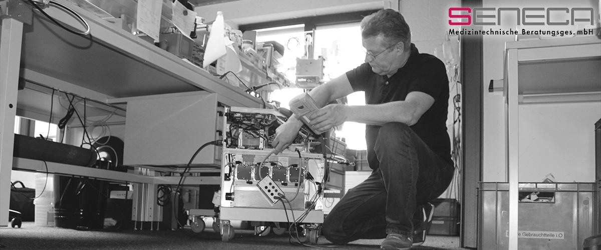 seneca Medizintechnik – Second Level Service für Hypo- und Hyperthermiegeräte