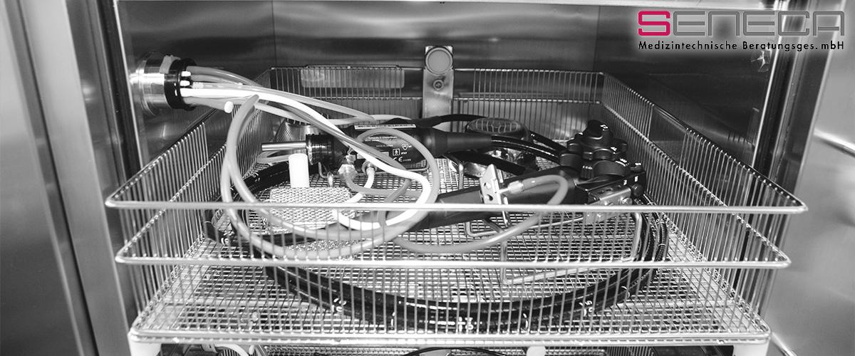 seneca - Validierung von maschinellen Endoskopie-Reinigungs- und Desinfektionsgeräten (ERDG)