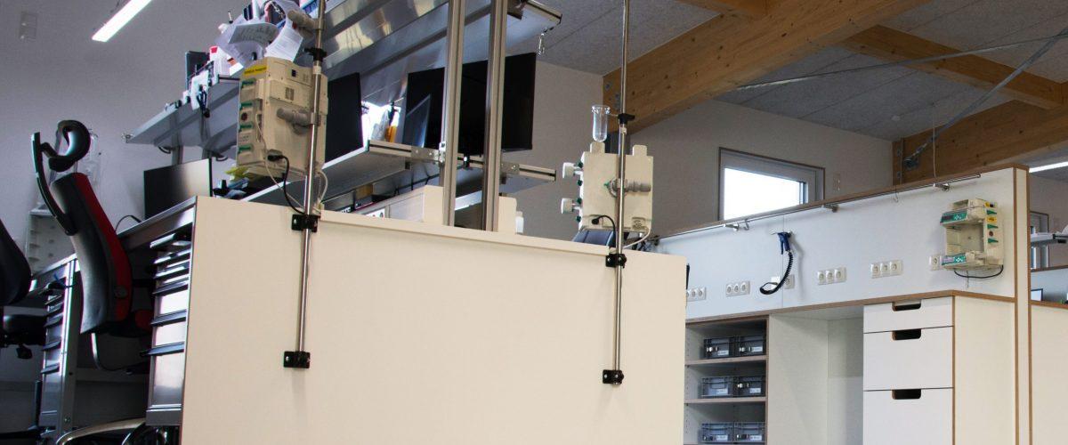 Neues Werkstattgebäude seneca Landau